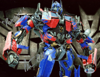 """Peter Cullen Signed """"Transformers"""" 8x10 Photo Inscribed """"Rollout!"""" (Beckett COA) at PristineAuction.com"""