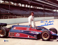 """Mario Andretti Signed 8x10 Photo Inscribed """"All the Best"""" (Beckett COA) at PristineAuction.com"""
