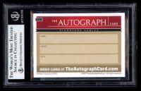 Bob Dole & Elizabeth Dole Signed 2017 The Autograph Card Signature Series #USA1 (BGS Encapsulated) at PristineAuction.com