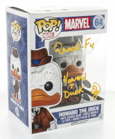 "Ed Gale Signed ""Howard The Duck"" #64 Funko Pop! Vinyl Figure Inscribed ""Quack - Fu"" & ""Howard T. Duck"" (PSA COA) at PristineAuction.com"