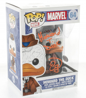 "Ed Gale Signed ""Howard The Duck"" #64 Funko Pop! Vinyl Figure Inscribed ""Howard T. Duck"" (PSA COA) at PristineAuction.com"