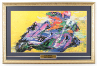"LeRoy Neiman ""Easy Rider"" 16x24 Custom Framed Print Display at PristineAuction.com"