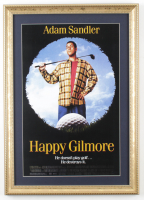 """Happy Gilmore"" 15x21 Custom Framed Movie Poster Display at PristineAuction.com"