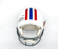 """Warren Moon & Earl Campbell Signed Oilers Full-Size Authentic On-Field Throwback Helmet Inscribed """"HOF 06"""" (Beckett COA) at PristineAuction.com"""