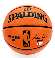 Larry Bird Signed NBA Game Ball Series Basketball (Beckett COA) at PristineAuction.com