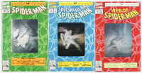 """Lot of (3) 1992 """"The Amazing Spider-man"""" Marvel Comic Books with #90, #189 & #365 at PristineAuction.com"""
