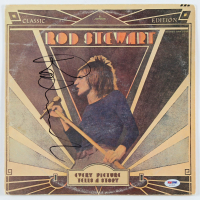 "Rod Stewart Signed ""Every Picture Tells a Story"" Vinyl Record Album Cover (PSA Hologram) at PristineAuction.com"
