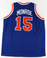 Earl Monroe Signed Jersey (PSA COA) at PristineAuction.com