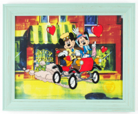 """Nifty Nineties"" 13.5x16.5 Custom Framed Animation Serigraph Display at PristineAuction.com"