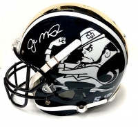Joe Montana Signed Signed Notre Dame Fighting Irish Full-Size Chrome Helmet (Beckett COA) at PristineAuction.com