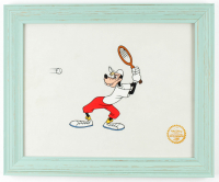 """Tennis Racquet"" 13.5x16.5 Custom Framed Disney Animation Cel Display at PristineAuction.com"