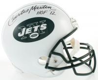 """Curtis Martin Signed Jets Full-Size Helmet Inscribed """"HOF '12"""" (JSA COA) at PristineAuction.com"""