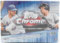 2020 Topps Chrome Baseball Blaster Box with (8) Packs at PristineAuction.com