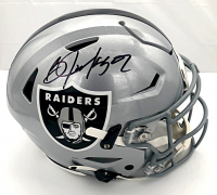 Bo Jackson Signed Raiders Full-Size Authentic On-Field SpeedFlex Helmet (Beckett COA) at PristineAuction.com
