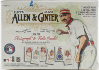2020 Topps Allen & Ginger Baseball Blaster Box with (8) Packs at PristineAuction.com