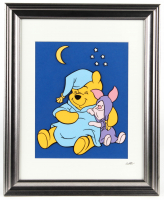 "Walt Disney's ""Winnie-the-Pooh"" 13x16 Custom Framed Hand-Painted Animation Cel Display at PristineAuction.com"