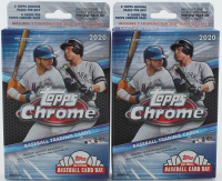 Lot of (2) 2020 Topps Chrome Baseball Hanger Boxes of (5) Packs at PristineAuction.com