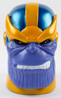 Stan Lee Signed Thanos Coin Bank (Radtke COA & Lee Hologram) at PristineAuction.com