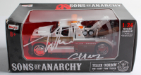 """Tommy Flanagan Signed """"Sons of Anarchy"""" 1:24 Die Cast Tow Truck Inscribed """"Chibs"""" (Radtke COA) at PristineAuction.com"""