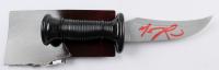 "Matthew Lillard Signed Plastic 10.5"" Knife (Radtke COA) at PristineAuction.com"
