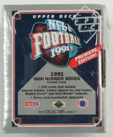1991 Upper Deck High Number Series Football Set of (200) Cards at PristineAuction.com