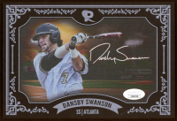 Dansby Swanson Signed Braves 5.5x8 Print (JSA COA) at PristineAuction.com