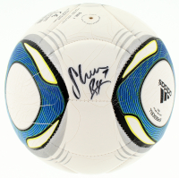Shannon Boxx Signed Adidas Mini Soccer Ball (JSA COA) at PristineAuction.com