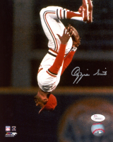 Ozzie Smith Signed Cardinals 8x10 Photo (JSA COA) at PristineAuction.com