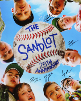 """The Sandlot"" 16x20 Photo Cast-Signed by (5) with Tom Guiry, Marty York, Shane Obedzinski, Chauncey Leopard, & Brandon Adams Inscribed ""DeNunez"" (Beckett Hologram) at PristineAuction.com"