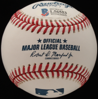 """Ozzie Smith Signed OML Baseball Inscribed """"82 W.S. Champs"""" (Beckett COA) at PristineAuction.com"""