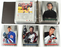 Lot of (85) 1997-98 Donruss Studio Hockey Portraits 8x10 With Wayne Gretzky #1, Joe Sakic #23, Martin Brodeur #20 at PristineAuction.com