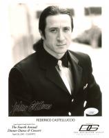 Federico Castelluccio Signed 8x10 Photo (JSA COA) at PristineAuction.com