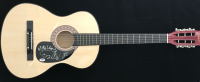 """Mark Wystrach, Jess Carson & Cameron Duddy """"Midland"""" Signed 38"""" Natural Full-Size Acoustic Guitar (PSA LOA) at PristineAuction.com"""
