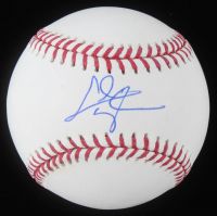 Chris Taylor Signed OML Baseball (Schwartz Sports COA) at PristineAuction.com