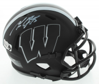 Melvin Gordon Signed Wisconsin Badgers Eclipse Alternate Speed Mini-Helmet (Radtke COA) at PristineAuction.com