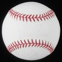 "Ernie Banks Signed OML Baseball Inscribed ""Mr Cub"" (Stacks of Plaques COA & Banks Hologram) at PristineAuction.com"