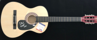 """Lyle Lovett Signed Full-Size Acoustic Guitar Inscribed """"2018"""" (PSA COA) at PristineAuction.com"""