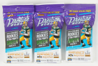 Lot of (3) 2020 Prestige Football Jumbo Value Packs with (30) Cards at PristineAuction.com