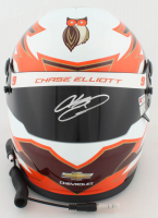 Chase Elliott Signed NASCAR Hooters Full-Size Helmet (Elliott COA & PA COA) (See Description) at PristineAuction.com