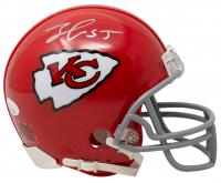 Frank Clark Signed Chiefs Mini Helmet (JSA COA) at PristineAuction.com