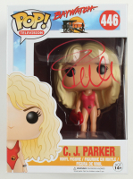 "Pamela Anderson Signed ""Baywatch"" #446 C. J. Parker Funko Pop! Vinyl Figure (Beckett COA) at PristineAuction.com"