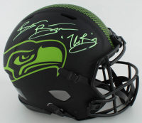 "Brian Bosworth Signed Seahawks Full-Size Authentic On-Field Eclipse Alternate Speed Helmet Inscribed ""The Boz"" (Beckett COA) at PristineAuction.com"