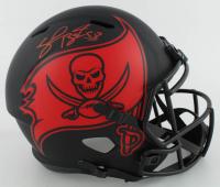 Shaquil Barrett Signed Buccaneers Full-Size Eclipse Alternate Speed Helmet (JSA Hologram) at PristineAuction.com