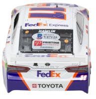 Denny Hamlin Signed LE #11 FedEx Freight 2012 Toyota Camry 1:24 Diecast Car (Beckett COA & PA Hologram) at PristineAuction.com