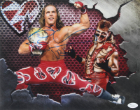 """Shawn Michaels Signed WWE 11x14 Photo Inscribed """"HBK"""" (JSA COA) at PristineAuction.com"""