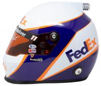 Denny Hamlin Signed NASCAR FedEx Full-Size Helmet (PA Hologram & Beckett COA) at PristineAuction.com