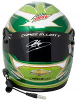 Chase Elliott Signed NASCAR Mountain Dew Full-Size Helmet (Beckett COA, Elliott Hologram & PA Hologram) at PristineAuction.com