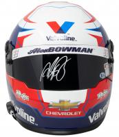 Alex Bowman Signed NASCAR Valvoline Full-Size Helmet (Beckett COA, Hendrick Hologram & PA Hologram) at PristineAuction.com