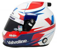 Alex Bowman Signed NASCAR Valvoline Full-Size Helmet (Beckett COA, Hendrick Hologram, & PA Hologram) at PristineAuction.com