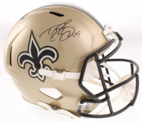 Drew Brees Signed Saints Full-Size Speed Helmet (Beckett COA) at PristineAuction.com